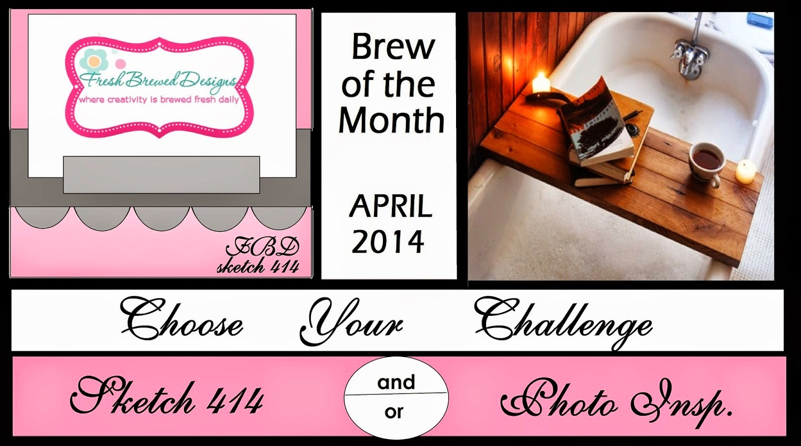 FBD Choose Your Own Challenge for April
