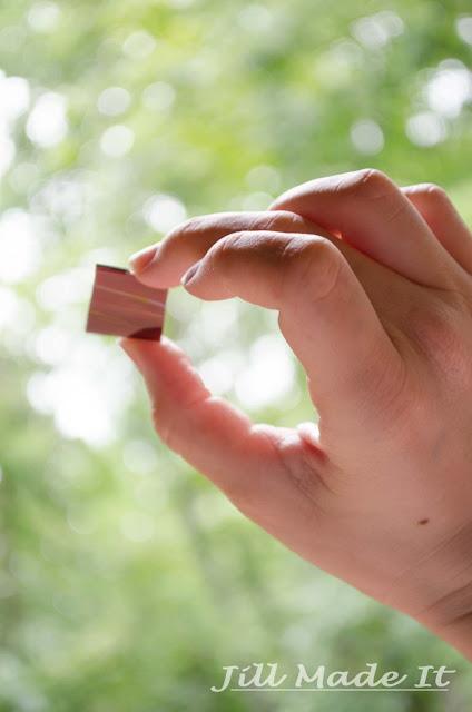 Ta da! A piece of cut glass