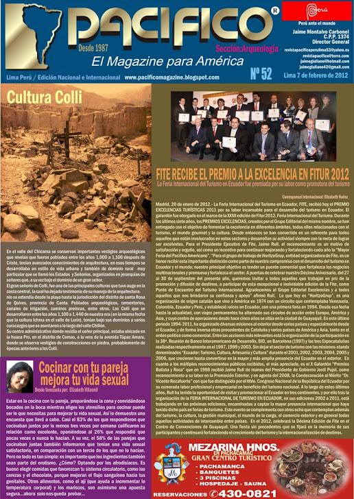 Revista Pacífico Nº 52 Arqueología