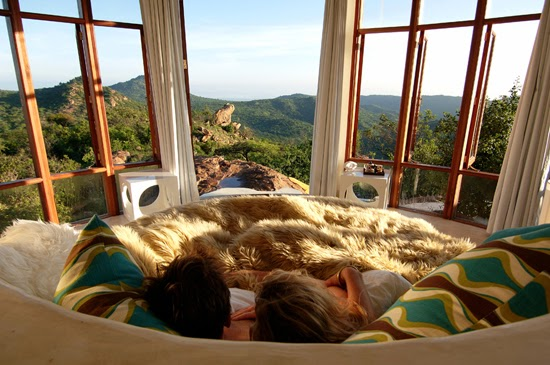 Safari Fusion blog | A bed with a view | Spectacular scenery from The Sanctuary at Ol Lentille, Laikipia Kenya