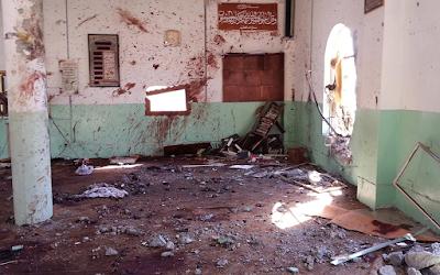 Penganut Syiah Iran BOM Dua Masjid Islam