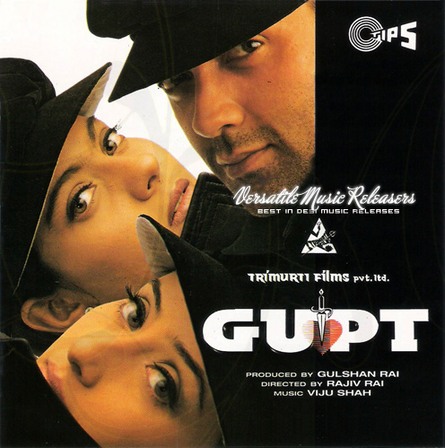 Gupt: The Hidden Truth (1997) SL YT - Bobby Deol, Manisha Koirala, Kajol, Paresh Rawal, Om Puri and Raj Babbar. 