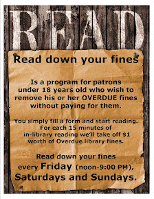 Read Down Your Fines!