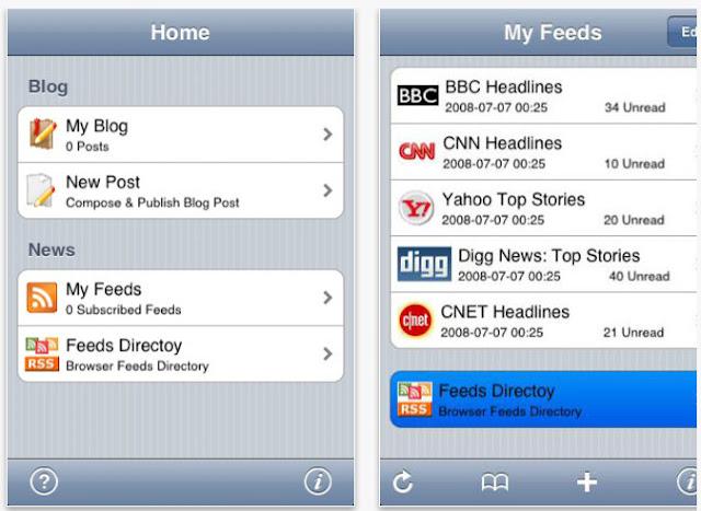 Blog Writer IOS Blog App
