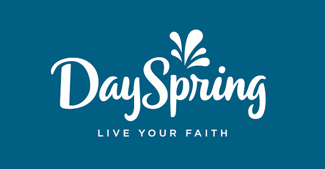 DaySpring's new logo, helping you live your faith.