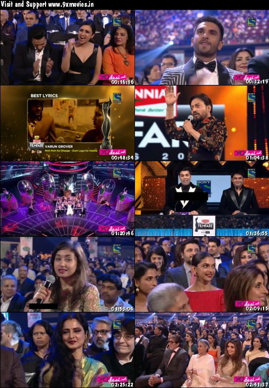 61st Filmfare Awards 2016 Main Event 720p HDTV