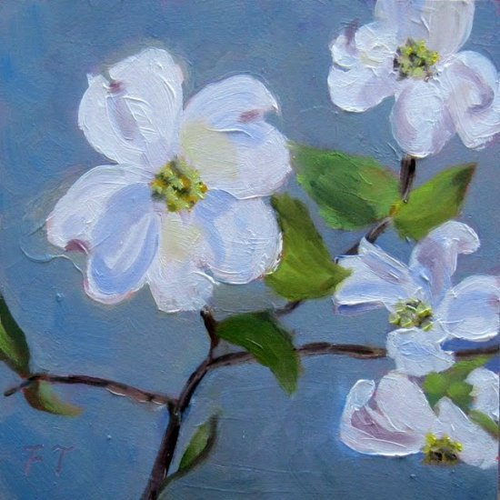 fay terrys daily paintings dogwoodnorth carolinas