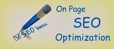 On Page SEO Optimisasi