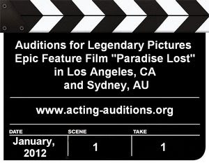 Paradise Lost Casting Calls Auditions