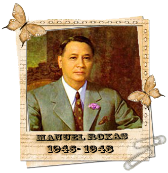 economic policy of manuel roxas Manuel acuṅa roxas fifth presidentfirst president of the  roxas administration (dbs-manila)  • economic reconstruction of the nation through.