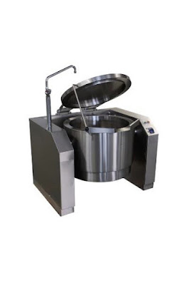Electric Manual And Automatic Tilting Boiling Pan