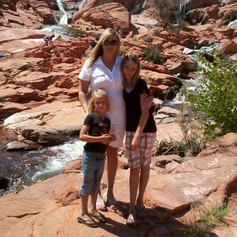 At Gunlock Falls