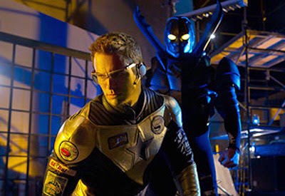 Smallville First Look Booster Gold and Blue Beetle
