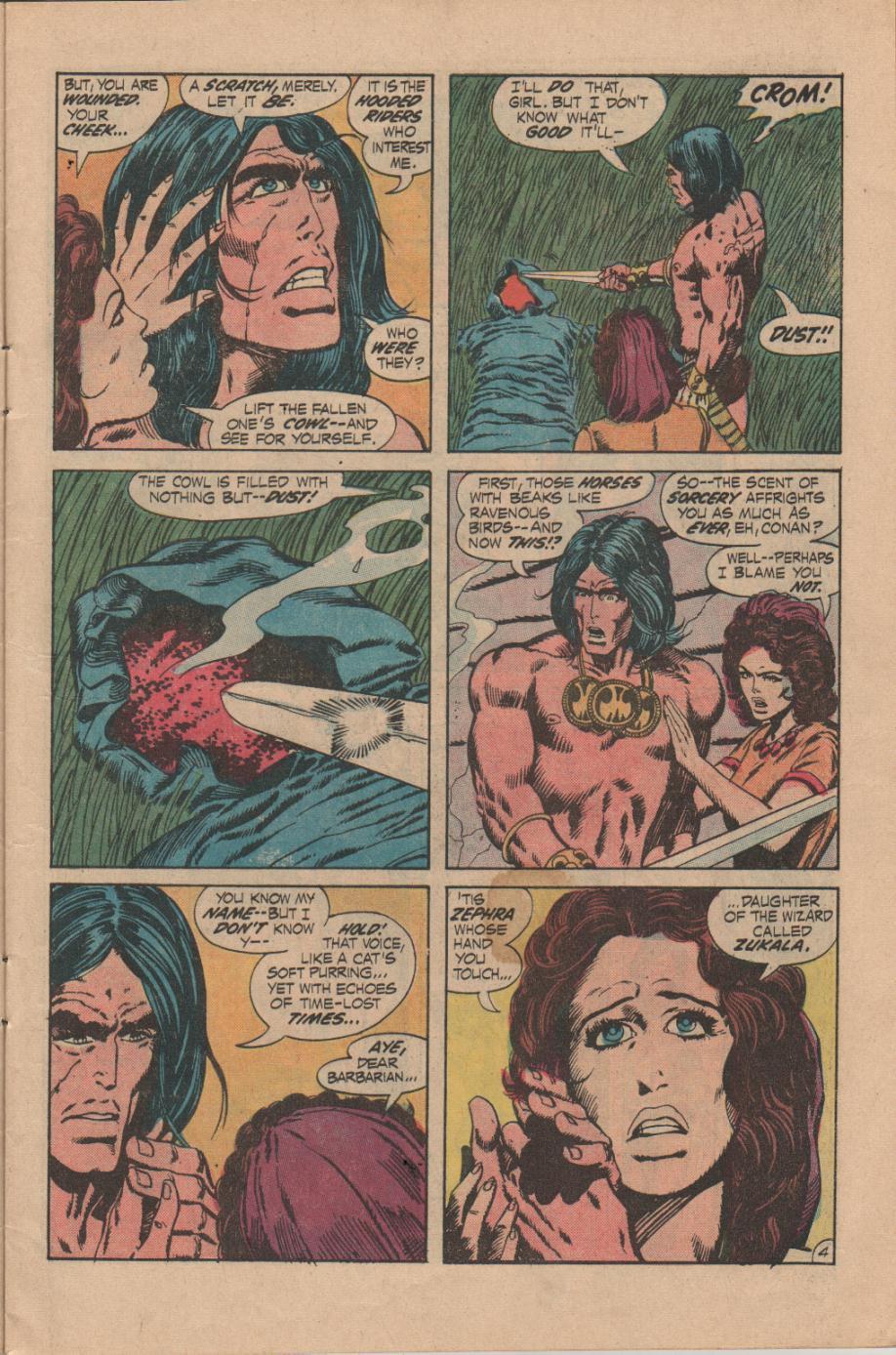 Conan the Barbarian (1970) Issue #14 #26 - English 5