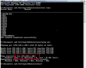 Cara Mengetahui IP Address Komputer Lain di Warnet dengan CMD