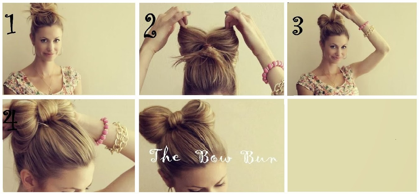 Como hacer peinados recogidos f ciles paso a paso - Peinados bonitos paso a paso ...