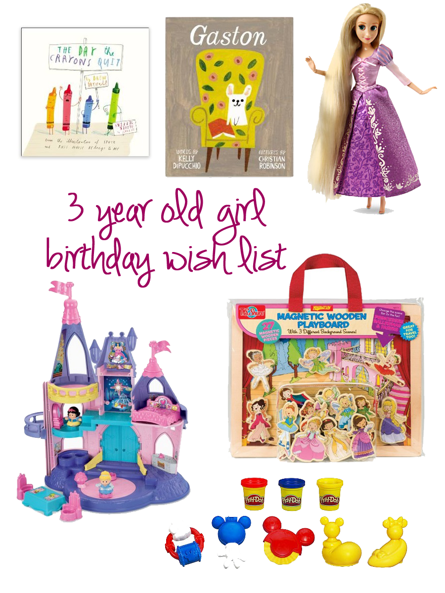 3 Year Old Girl Gift Ideas