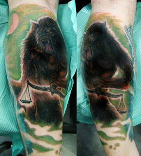 Werewolf Tattoo Design Photo Gallery - Werewolf Tattoo Ideas