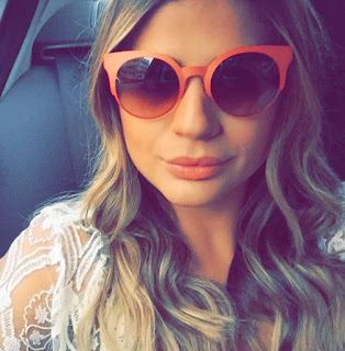 oculos de sol verao 2016 cat eye fendi laranja