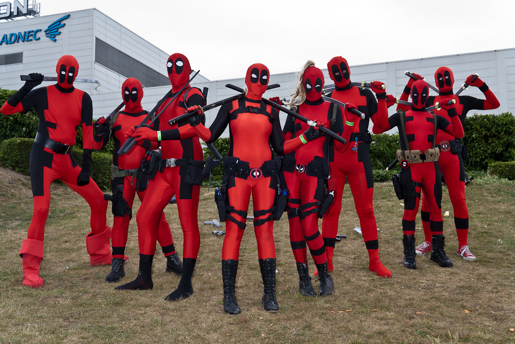 Cool Lady Deadpool Costume: Lady Deadpool Costume Cosplay ...