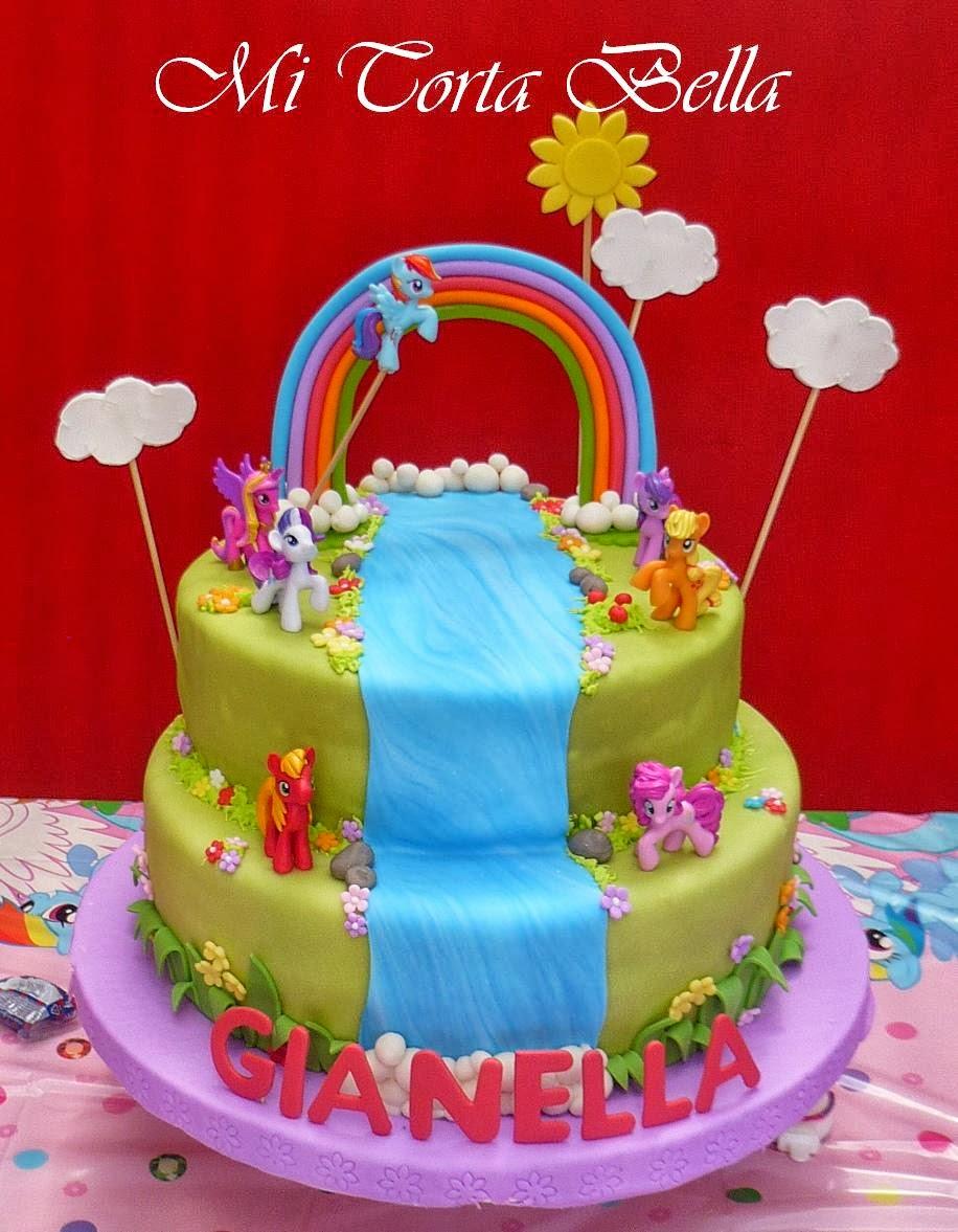 Mi Torta Bella: Mi Pequeño Pony - My Little Pony