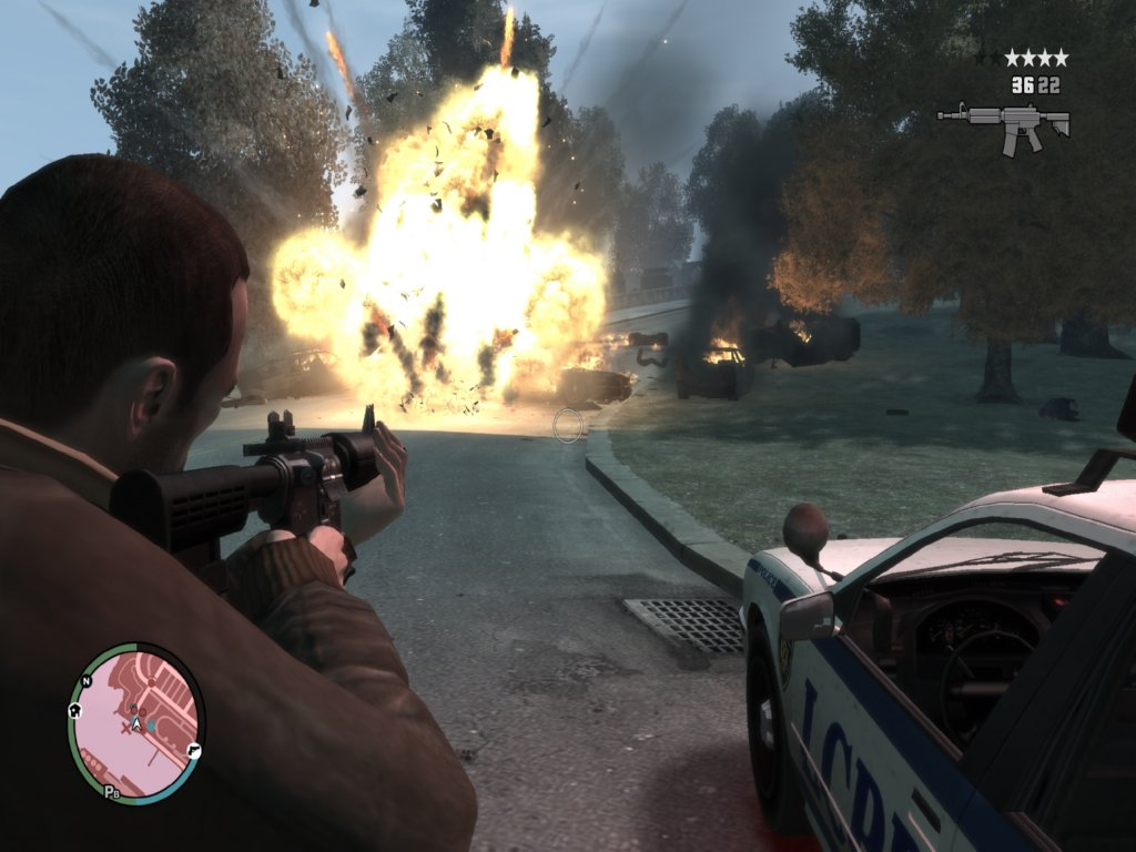 Grand Theft Auto iv permainan ScreenShot