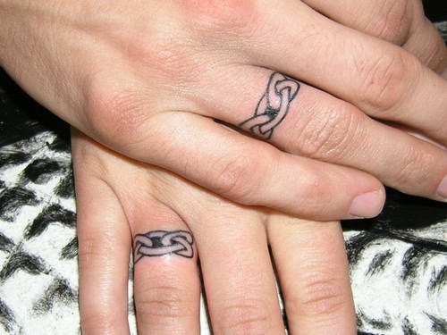Sleeve tattoo ideas ring finger tattoo ideas for Ring finger tattoos for couples