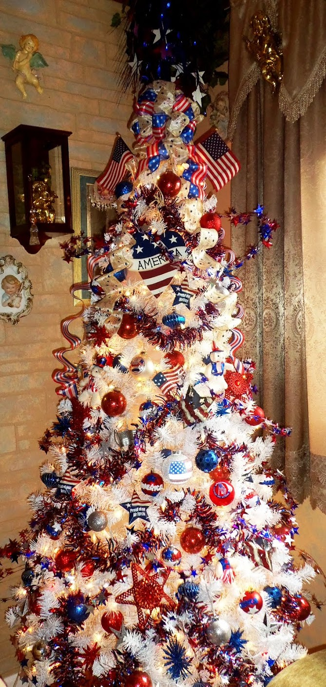 Patriotic Crafts and Tree 2015, Part 1