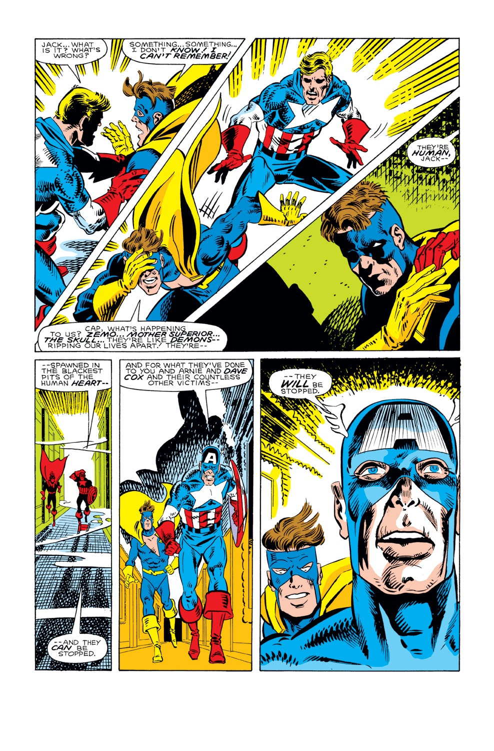 Captain America (1968) Issue #296 #224 - English 10