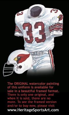 1985 St. Louis Cardinals uniform