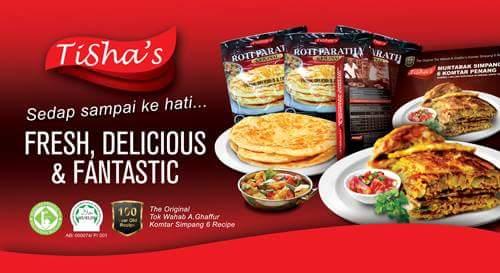 TISHA's Murtabak & Roti Paratha