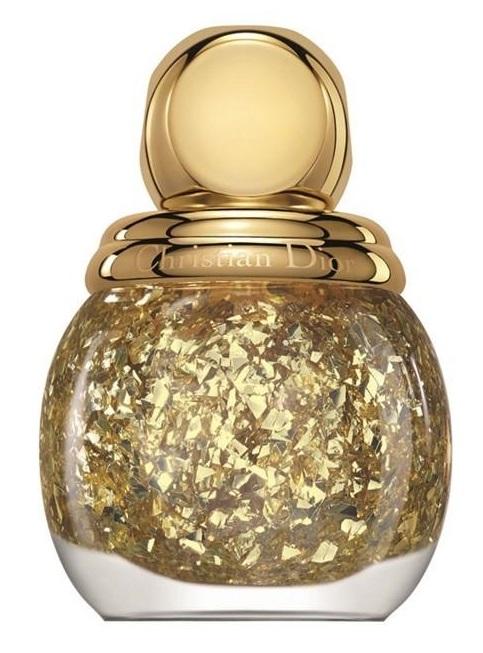 Diorific Vernis Gold Leaf Effect Top Coat de DIOR