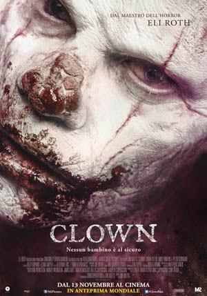 Clown 2014 poster