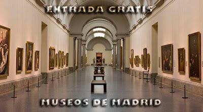 Entrada museo Prado Reina Sofia Sorolla gratis madrid