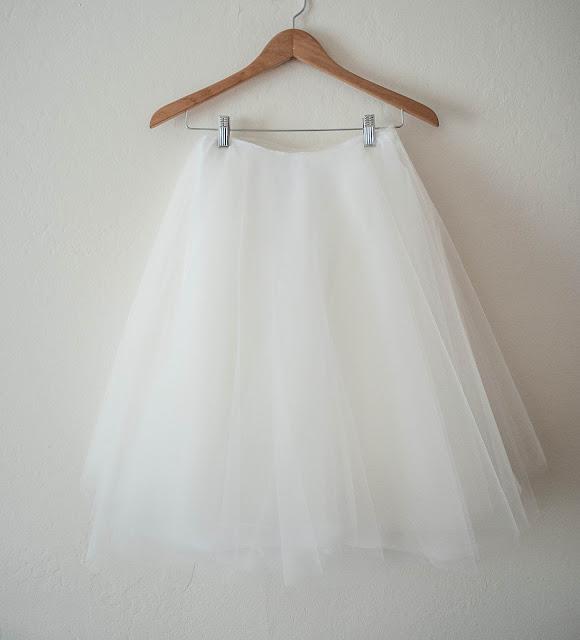 DIY Tulle skirt, anthropologie karinska tulle skirt