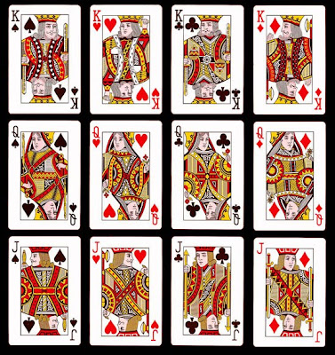 SYMBOLS BEHIND THE PLAYING CARDS