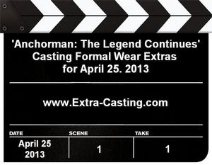 Anchorman: The Legend Continues Casting Call