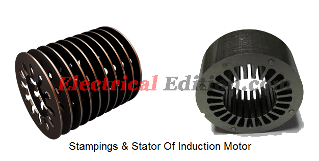 Induction Motor Construction on motor poles