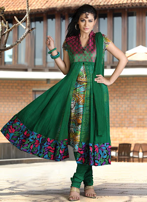 designs of anarkali frocks