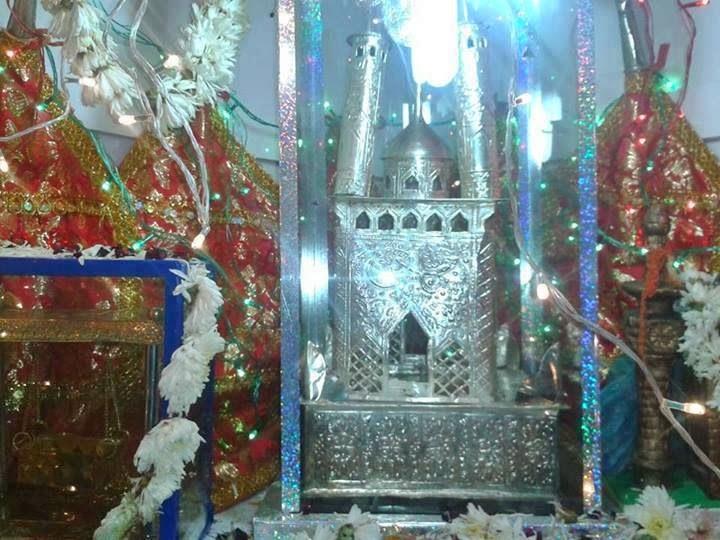 Tazia at the Shi'a Imambargah at Sector 50, Noida
