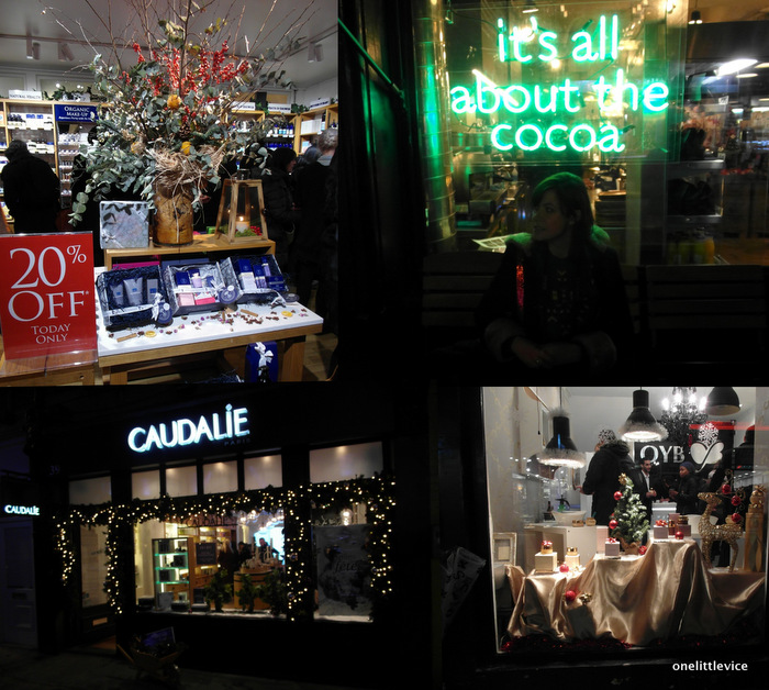 One Little Vice Beauty Blog: Christmas in Covent Garden