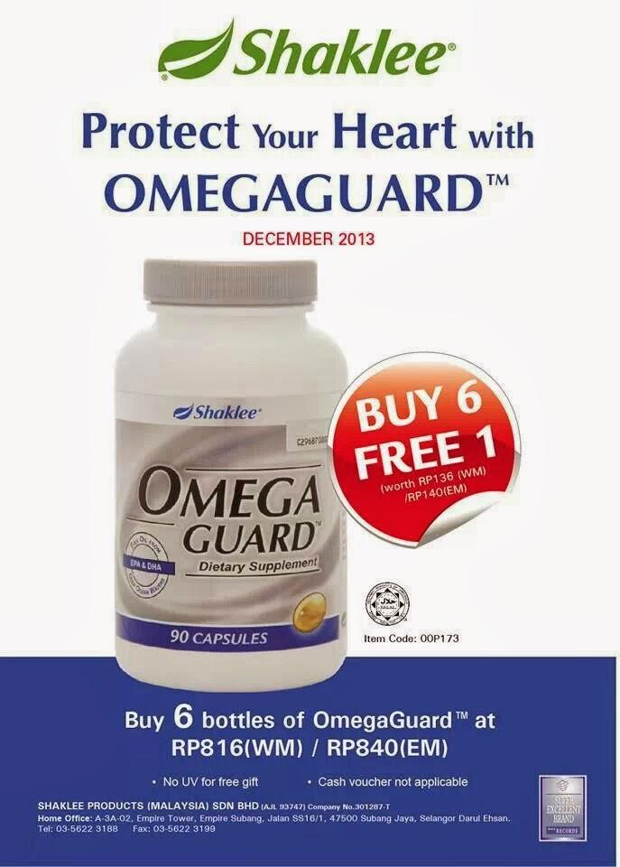 omega guard shaklee, promosi omega shaklee