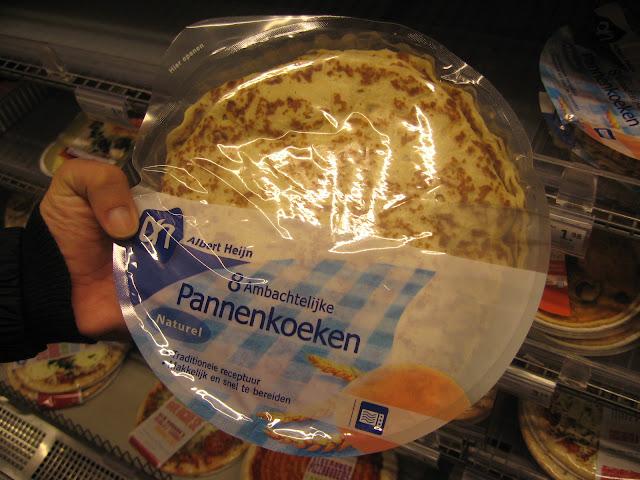 pannenkoeken al supermercato in olanda