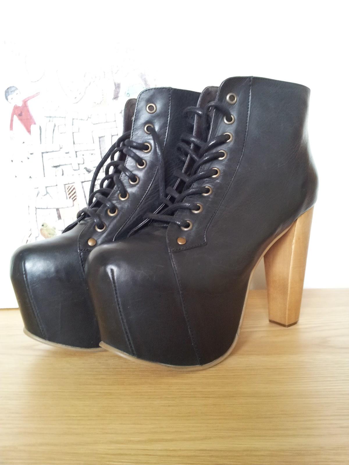 Jeffrey Campbell Lita Platform Boots