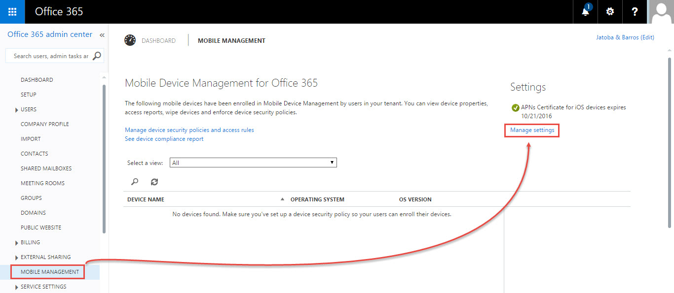 Mobile device management for office 365 technet articles united states english technet wiki - Office for mobile devices ...