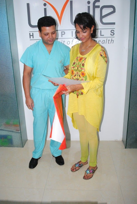Lakshmi Prasanna @ Livlife Hospitals Function Photo Set - N/W  Lakshmi-Prasanna-at-Livlife-Hospitals_037