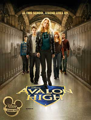 Avalon High 2010 Hindi Dubbed 300MB Movie WEBDL 480p