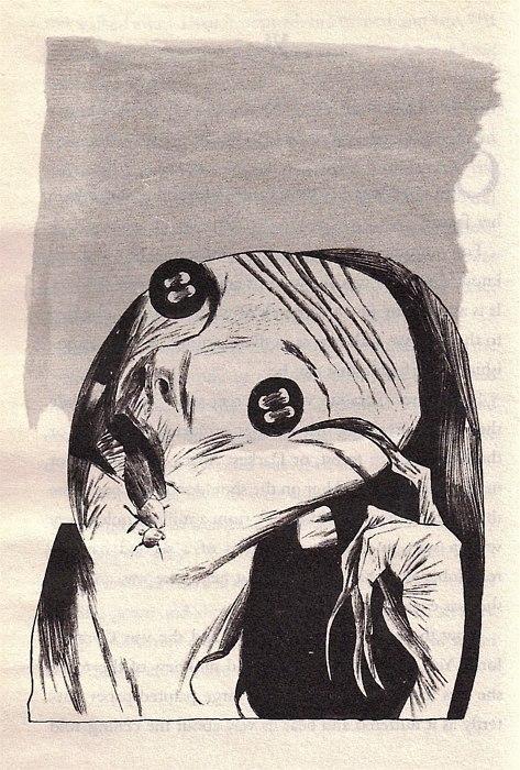 Doctor Ojiplático. Dave McKean. Artwork