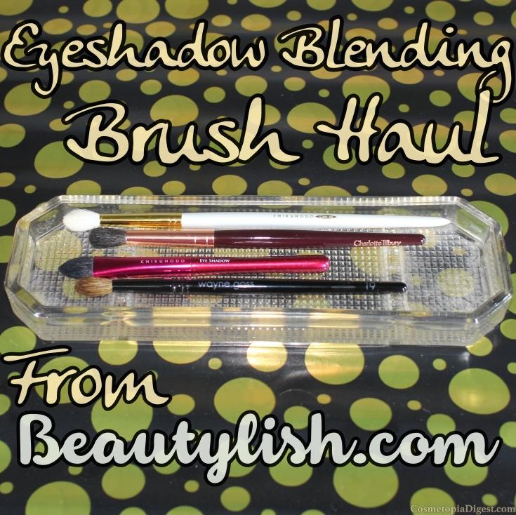Eyeshadow Blending Brush Haul From Beautylish