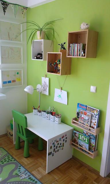 biurko do chłopca